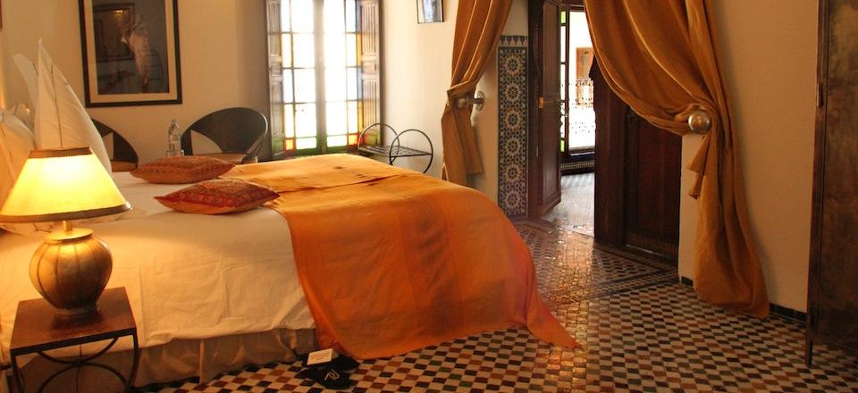 Chambre Jaune - Riad Laaroussa - Hotel & Spa - Fez - Morocco