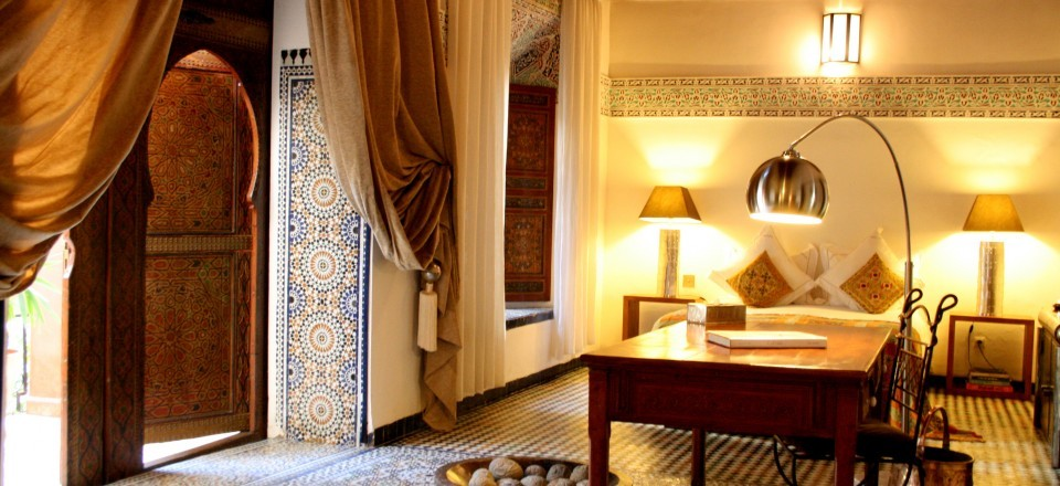 Green Suite at Riad Laaroussa Fez