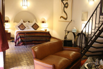 Riad Laaroussa Orange Suite